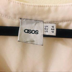 ASOS Tops - 🌹ASOS Tulip Open Bottom Blouse Sz 12